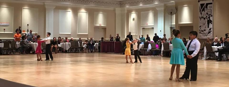 Competitive Ballroom dance is a Sport