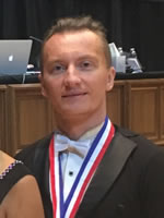 Denis Kojinov - ballroom and latin dance instructor