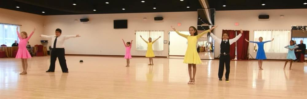 Children Ballroom and Latin dance classes Houston and Sugar Land