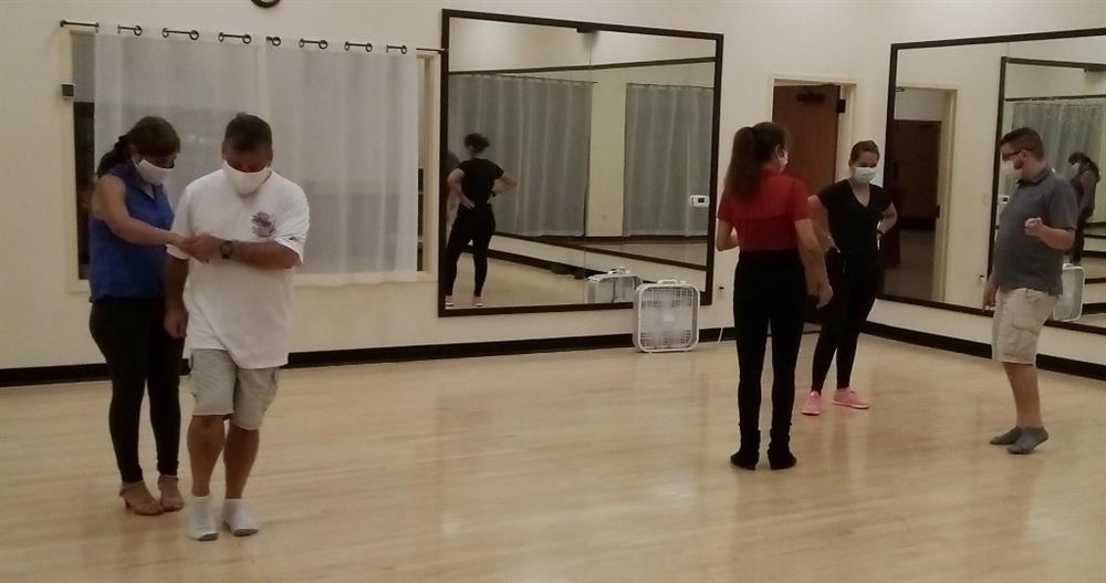 Salsa dance class in Houston