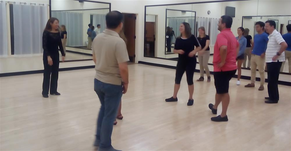 Salsa dance class houston