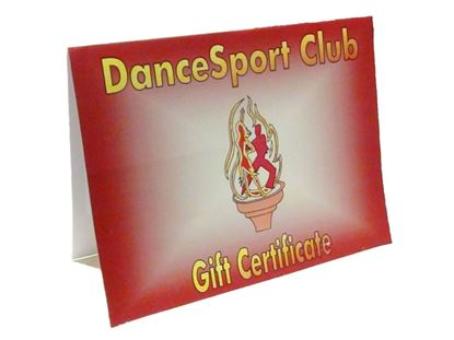 Picture of Dance Gift Certificate