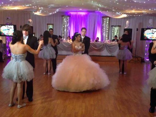 Large Quinceanera Court (7-12 couples) Dance Lessons (Waltz or Surprise dance)