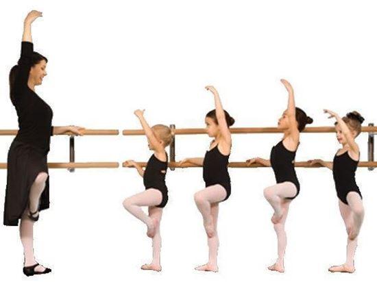 Imagen de pre-Ballet Principiante para Niños de 3 a 5 años (Lunes 7 p.m.)